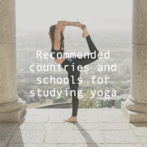 ヨガインストラクター資格を留学で取得したい!おすすめ国とスクールは?