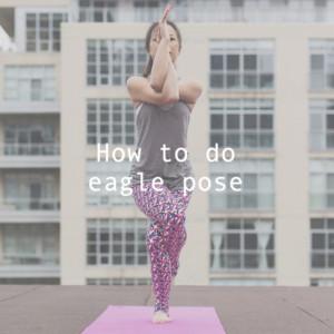 ガルダーサナ(ワシのポーズ)の方法と効果|背中と肩こり改善&脚やせ効果があるヨガポーズ