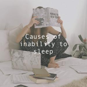 眠れない5つの原因。眠いのに眠れない症状を改善する方法