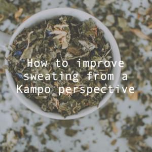 汗かきを漢方的視点で改善!4つのタイプ別に女性におすすめの多汗症対策